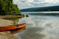 Lago Hemlock Fotografie Stock