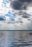 Lago herboso Foto de archivo libre de regalías