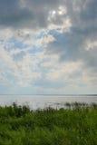 Lago herboso Imagen de archivo