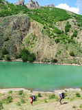 Lago hermoso Imagen de archivo