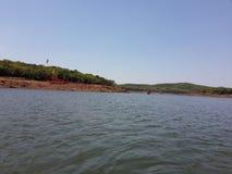 Lago hermoso Imagenes de archivo