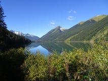 Lago hermoso en Columbia Británica, Canadá Duffey Foto de archivo libre de regalías