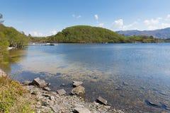 Lago hermoso Escocia del oeste Reino Unido Morar Scotish del lago Foto de archivo libre de regalías