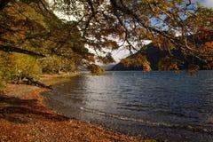 Lago Hermoso, Neuquen, la Argentina fotos de archivo