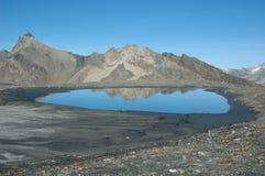 Lago high Altitude al DIX Fotografie Stock Libere da Diritti