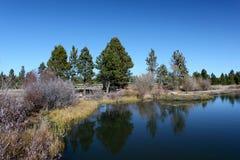 Lago high Mountain Imagens de Stock