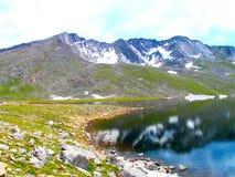 Lago high mountain Foto de Stock Royalty Free
