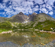 Lago highland Fotografia de Stock Royalty Free