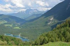 Lago Hintersee Immagini Stock