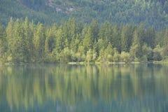 Lago Hintersee immagine stock