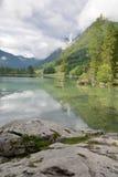 Lago Hintersee Immagine Stock Libera da Diritti