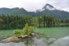 Lago Hintersee Fotografia Stock Libera da Diritti