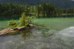 Lago Hintersee fotografie stock
