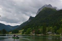 Lago Hintersee Immagini Stock Libere da Diritti