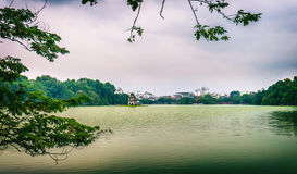 Lago Hoan Kiem Imagem de Stock Royalty Free
