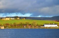 Lago Hollingworth en Rochdale Lancashire Imágenes de archivo libres de regalías