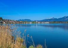 Lago Hopfensee Fotos de archivo
