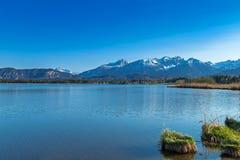 Lago Hopfensee Imagen de archivo