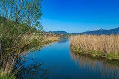 Lago Hopfensee Imagen de archivo libre de regalías