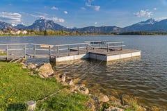 Lago Hopfensee Imagenes de archivo
