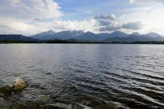 Lago Hopfensee Immagine Stock
