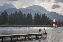 Lago Hopfensee imágenes de archivo libres de regalías