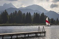 Lago Hopfensee foto de archivo libre de regalías