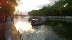 Lago Houhai Beihai fotografia de stock