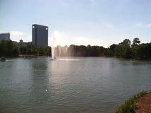 Lago Houston Texas McGoven Fotografía de archivo