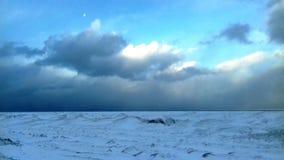 Lago Huron fotografie stock