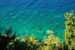 Lago Huron desobstruído foto de stock royalty free