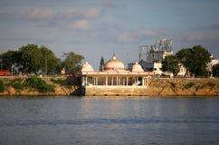 Lago Hussain sagar Fotos de archivo