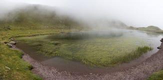 Lago Ibon de特鲁查斯 免版税库存图片