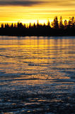 Lago ice Fotografia de Stock Royalty Free