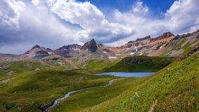 Lago ice, Colorado Fotografie Stock Libere da Diritti