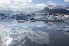 Lago iceberg, Jokulsarlon Immagine Stock Libera da Diritti