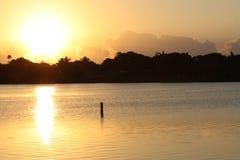 Lago IDA, Florida Immagine Stock Libera da Diritti