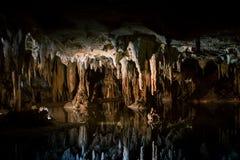 Lago ideal en Luray Caverns fotografía de archivo libre de regalías