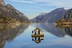 Lago Idro Fotografie Stock