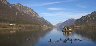 Lago Idro Immagine Stock Libera da Diritti