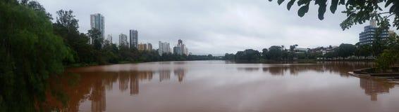 Lago Igapà ³ - Londrina - Brazilië Stock Afbeeldingen