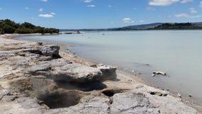 Lago il Distretto di Rotorua Fotografie Stock Libere da Diritti