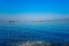 Lago Inle Immagini Stock