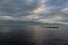 Lago Inle Fotos de archivo libres de regalías