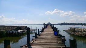 Lago Inle fotografia stock libera da diritti