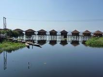 Lago Inle em Myanmar Foto de Stock