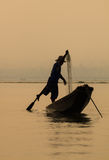 Lago Inle, Myanmar Imagens de Stock Royalty Free