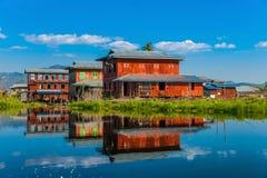 Lago Inle, Myanmar. Imagens de Stock