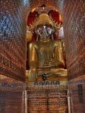 Lago Inle - Paya principale Buddha con il coridor del enlightment Fotografia Stock