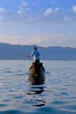 Lago Inle in Shan State, Myanmar Fotografia Stock